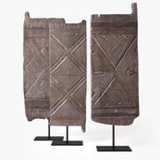 Igbo Door Nigeria - HandCarved Nigerian Doors Collection 3d model