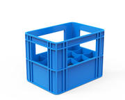 Plastikowa skrzynia 3d model