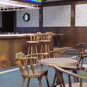 Pub scen 3d model