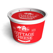 Cottage Cheese Tub 3d model