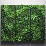 Vertical gardening picture 3d model