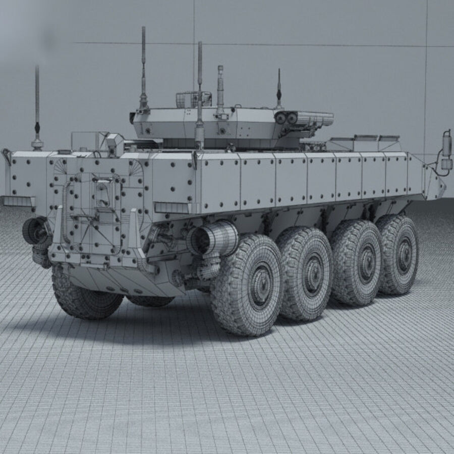 Bumerang APC royalty-free 3d model - Preview no. 4