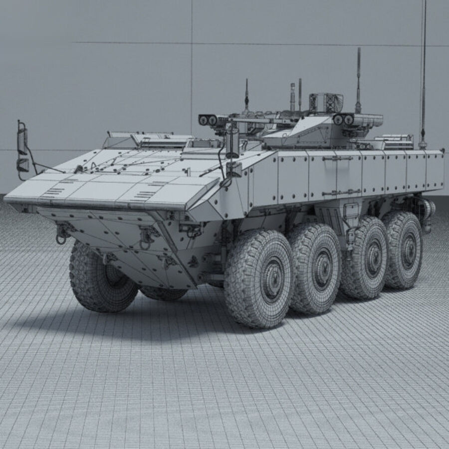 Bumerang APC royalty-free 3d model - Preview no. 3