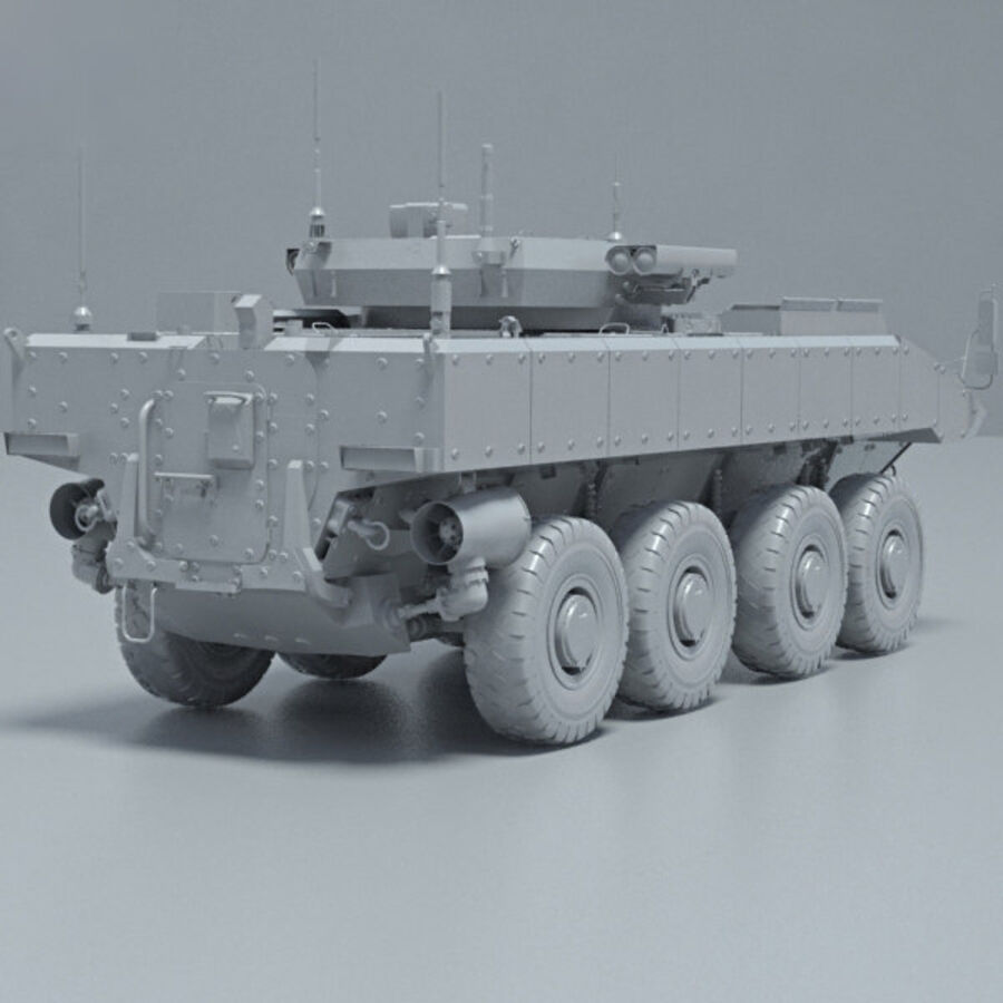 Bumerang APC royalty-free 3d model - Preview no. 12