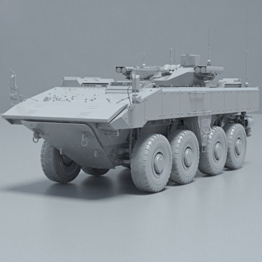 Bumerang APC royalty-free 3d model - Preview no. 11