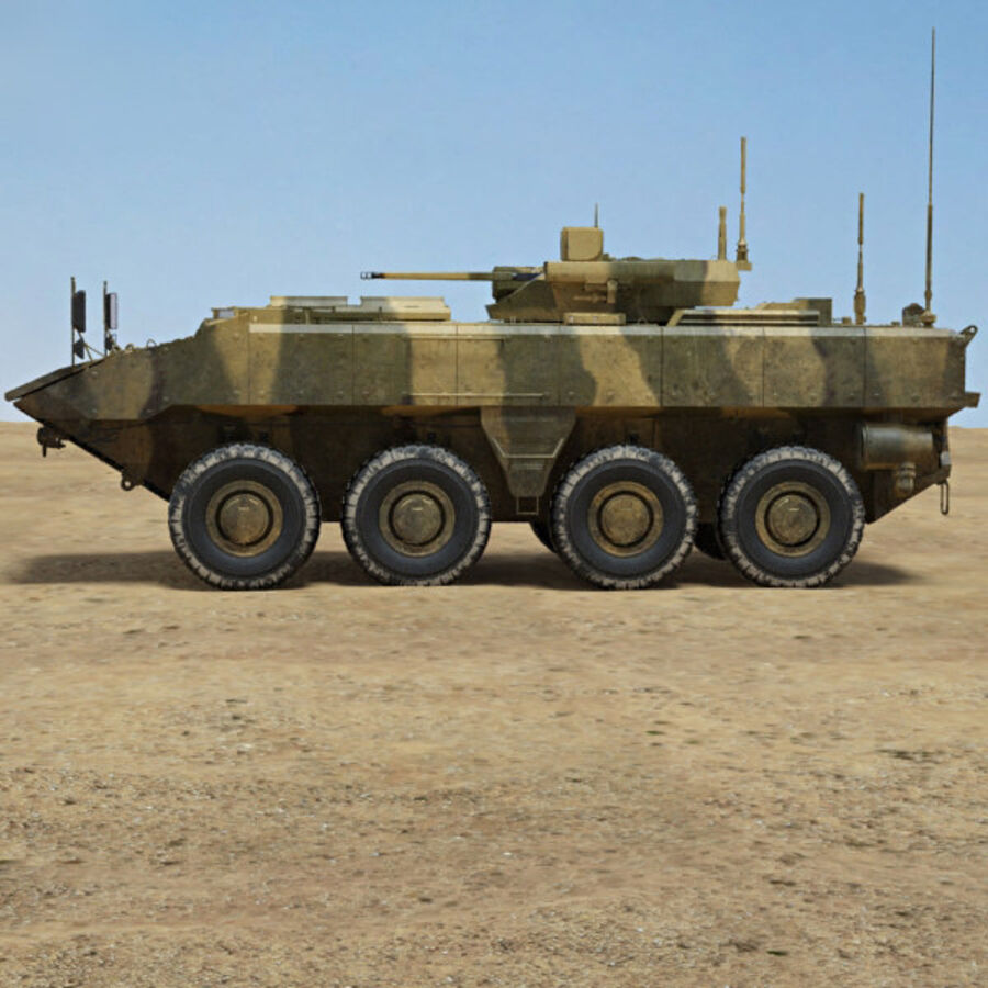 Bumerang APC royalty-free 3d model - Preview no. 5