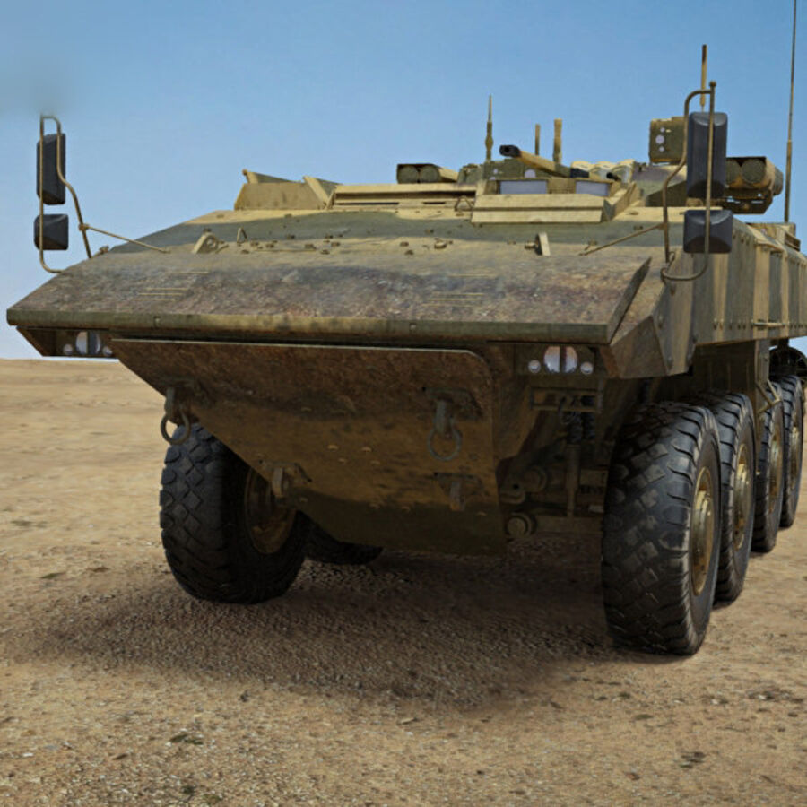 Bumerang APC royalty-free 3d model - Preview no. 6