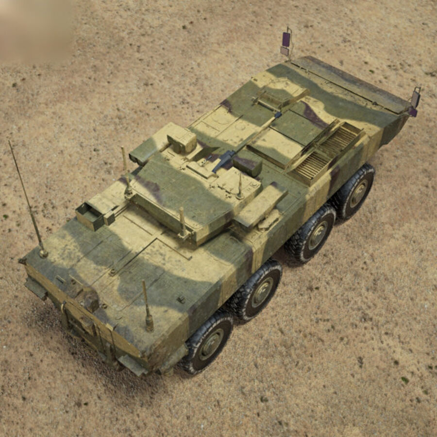 Bumerang APC royalty-free 3d model - Preview no. 9