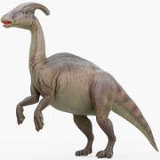Parasaurolophus (Rigged) 3d model