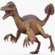 Troodon (attrezzato) 3d model