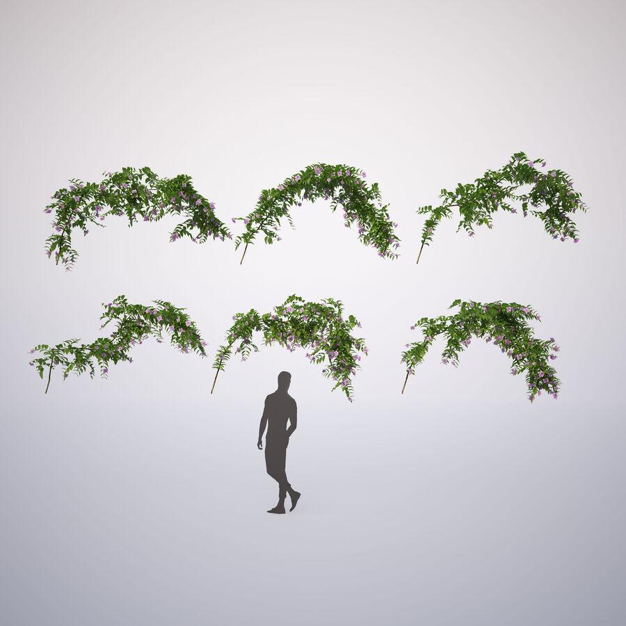 Generieke klimplanten royalty-free 3d model - Preview no. 7