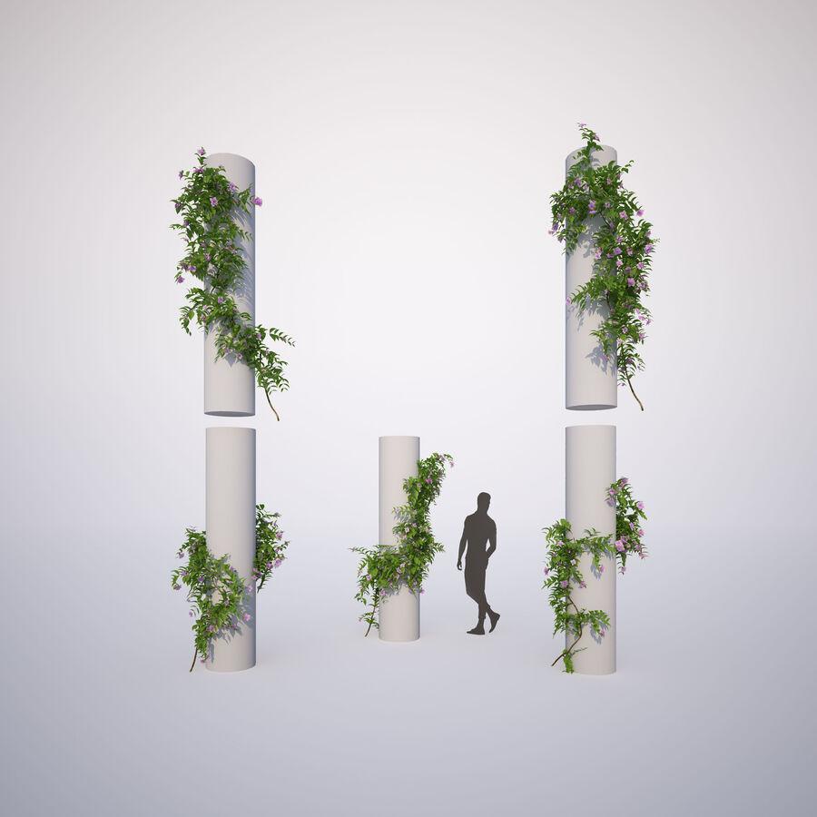 Generieke klimplanten royalty-free 3d model - Preview no. 6