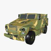 VPK-3924 곰 3d model
