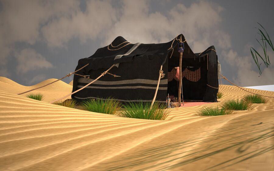 tente arabe royalty-free 3d model - Preview no. 7