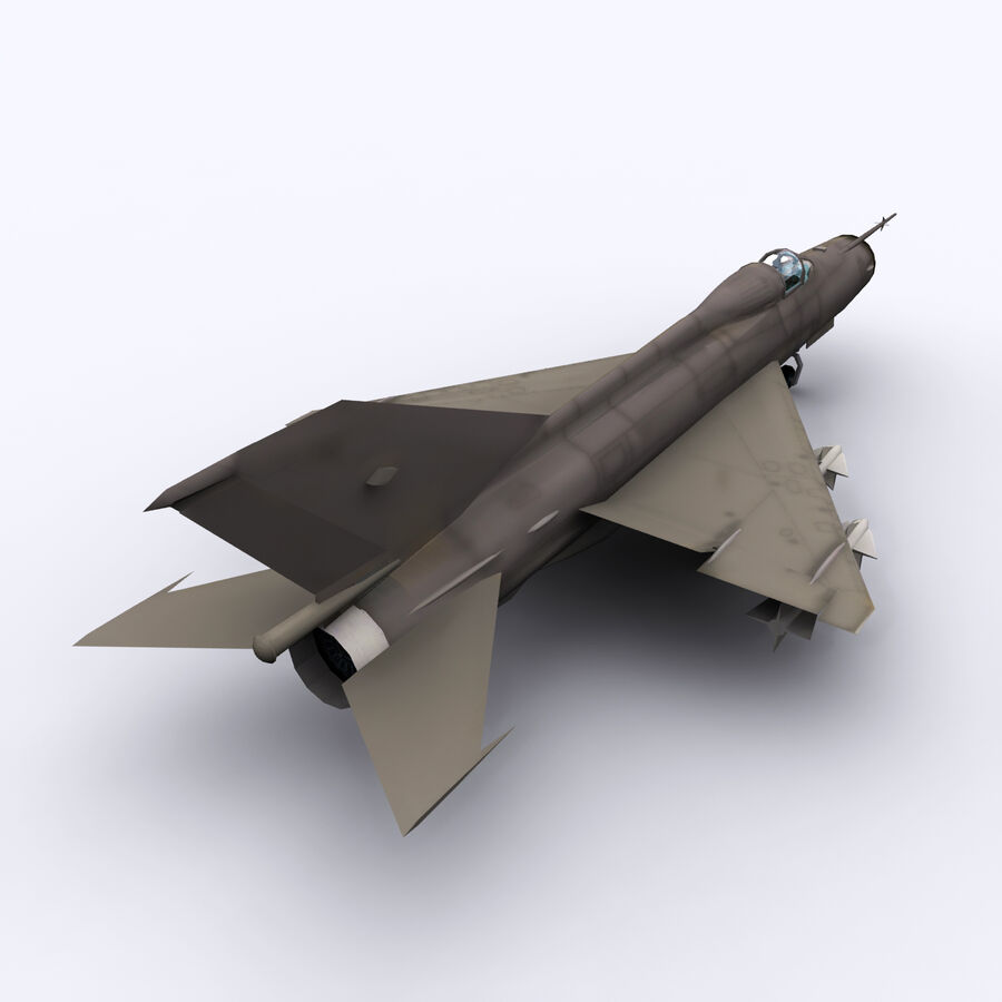 MIG 21 royalty-free 3d model - Preview no. 10
