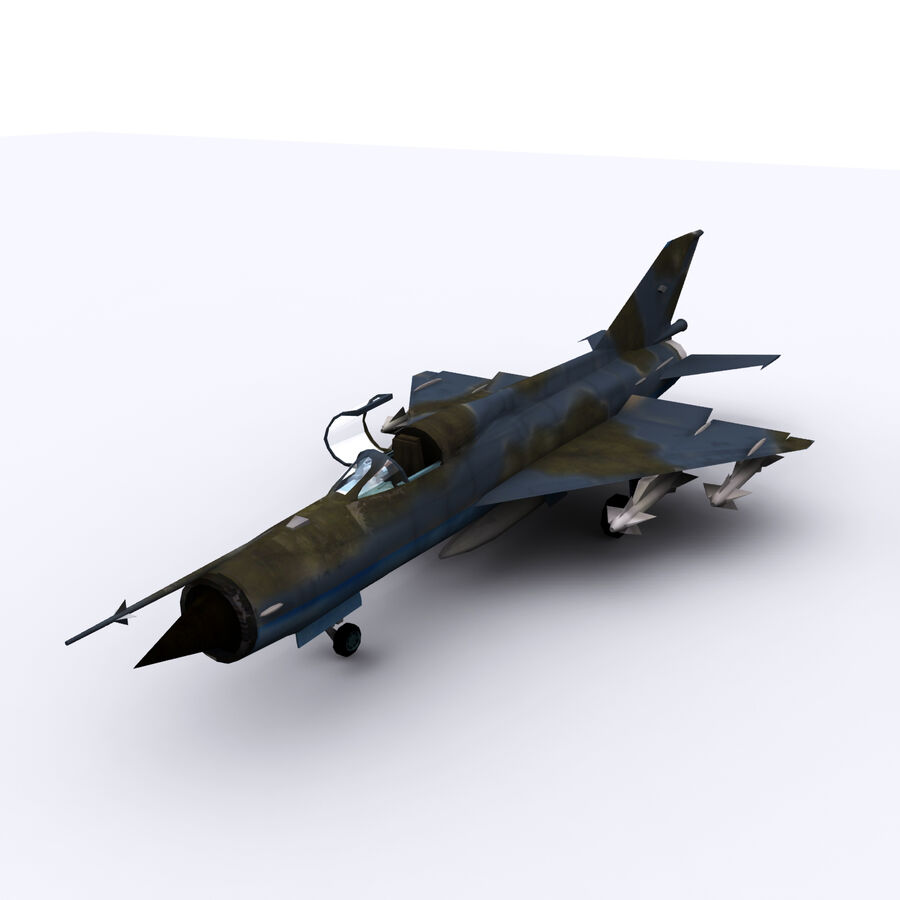 MIG 21 royalty-free 3d model - Preview no. 8