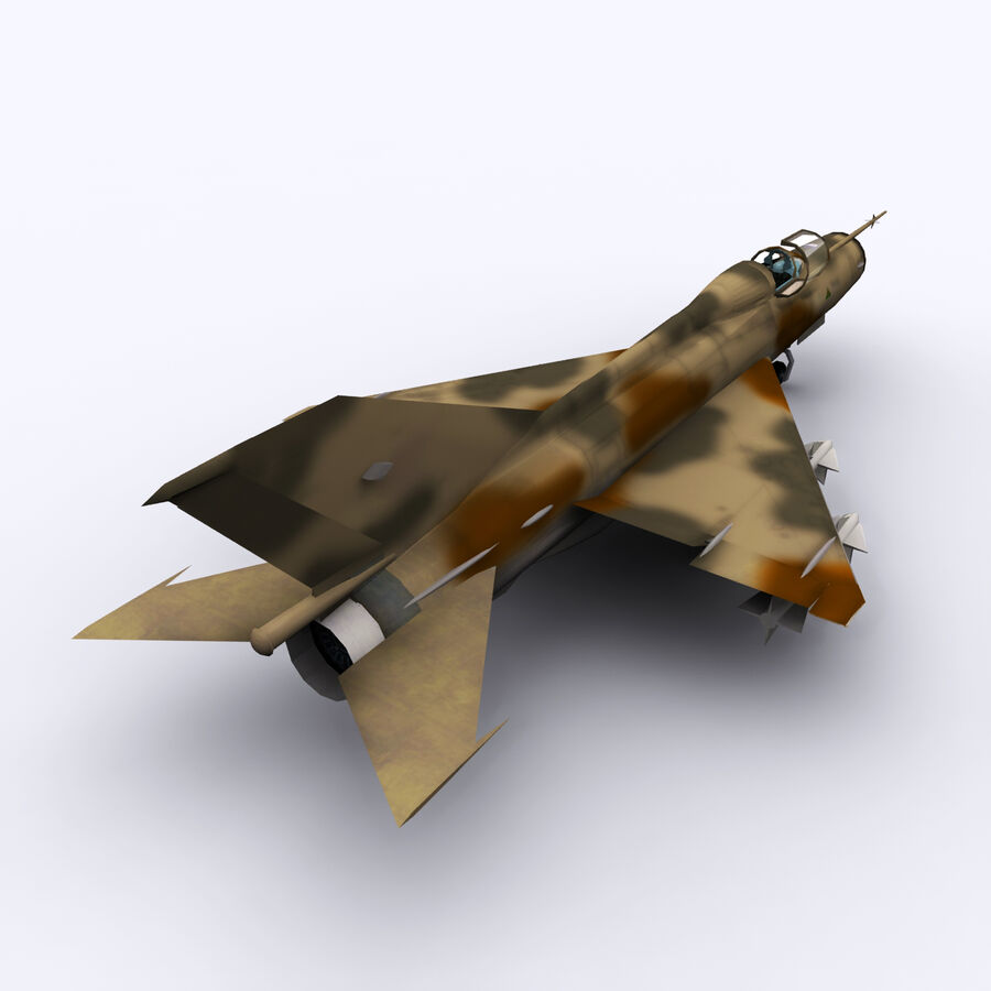 MIG 21 royalty-free 3d model - Preview no. 13