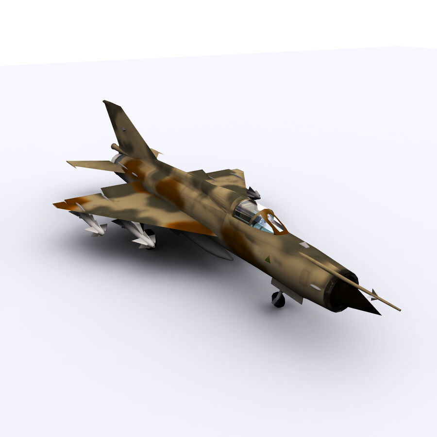MIG 21 royalty-free 3d model - Preview no. 5