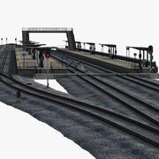 Costruttore della stazione ferroviaria 3d model