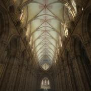Innenraum der Kathedrale 3d model