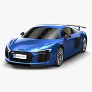 Audi R8 2017 3d model