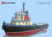 TUGBOAT 3d model