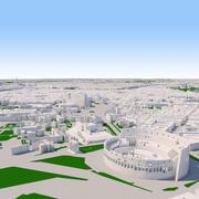 Paisagem urbana de Roma 3d model