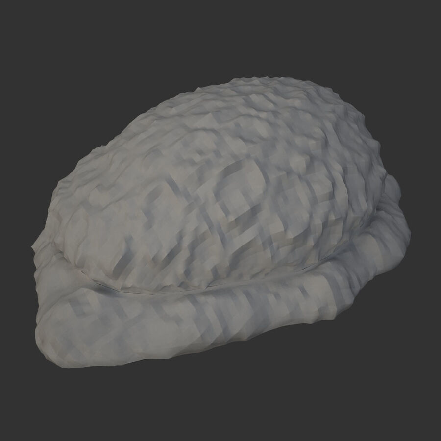 corals and coral fishes collection royalty-free 3d model - Preview no. 96