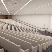 Konferans salonu 3d model