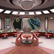 Starship Bridge(1) 3d model