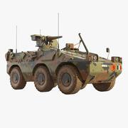 Puma 6x6 Armored Fighting Vehicle 3d model