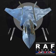 RAF Tempest 3d model