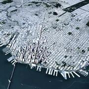 San Francisco With Terrain 3d model