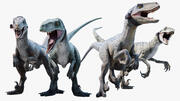 Raptor Squad 3d model