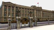 Residencia y administración Buckingham Palace modelo 3d