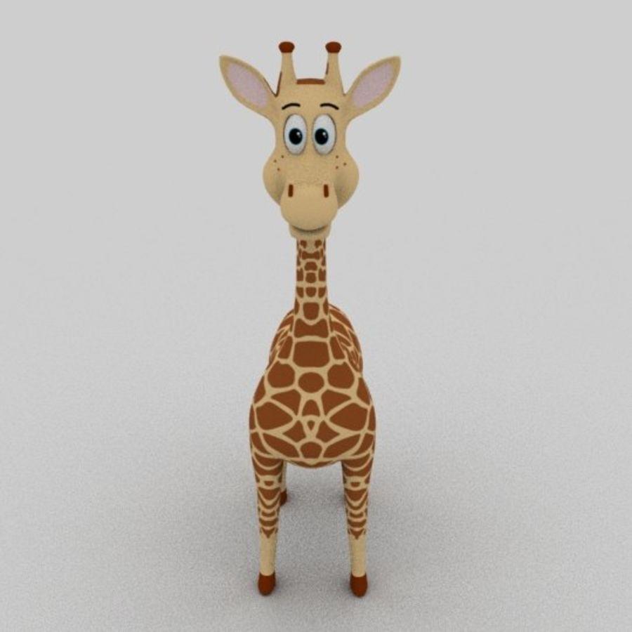 Giraffe royalty-free 3d model - Preview no. 2