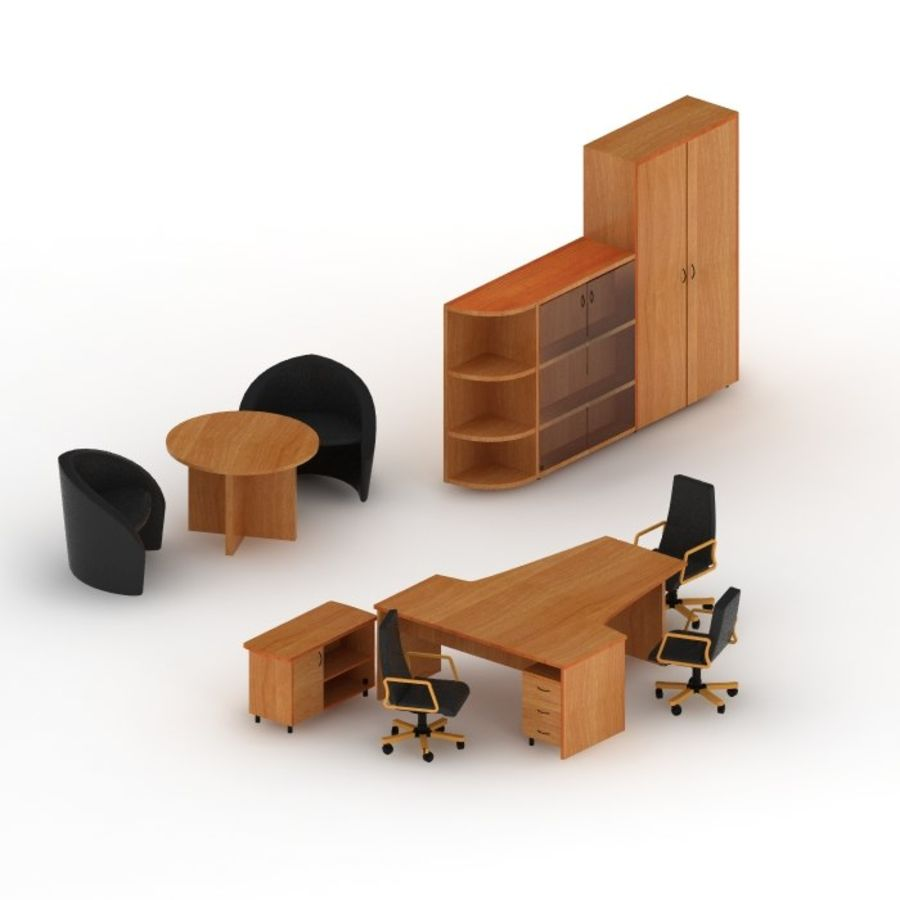 office royalty-free 3d model - Preview no. 2