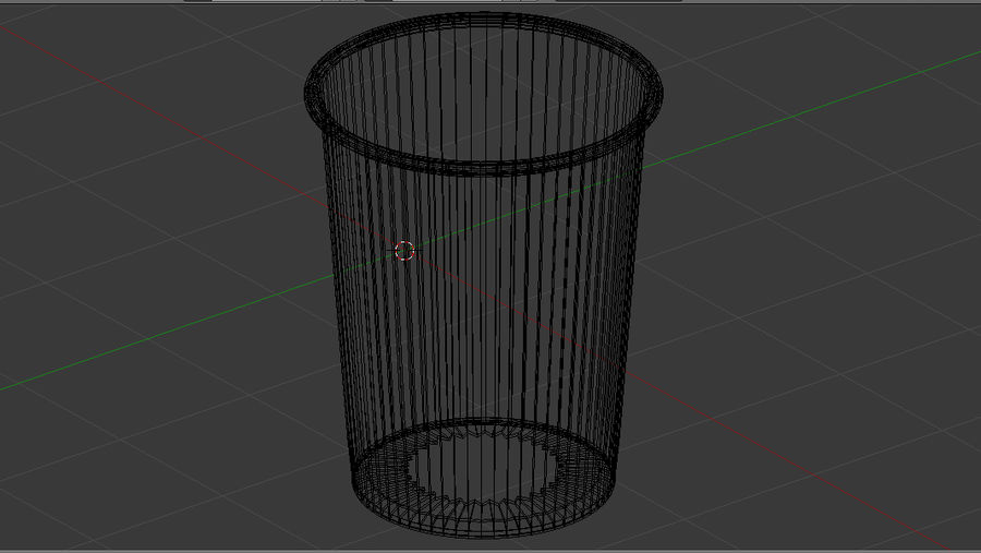 紙コップ royalty-free 3d model - Preview no. 4