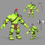 角斗士绿巨人 3d model