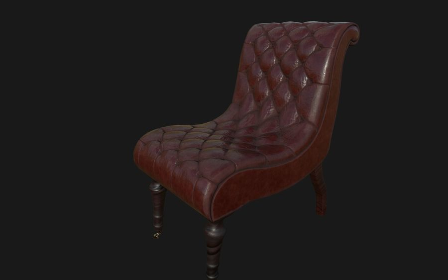 Sofa Stuhl royalty-free 3d model - Preview no. 4