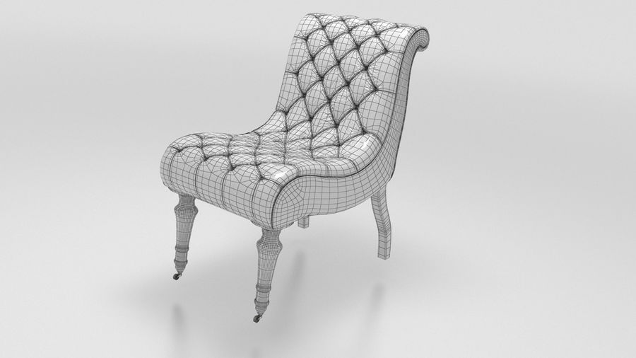 Sofa Stuhl royalty-free 3d model - Preview no. 10