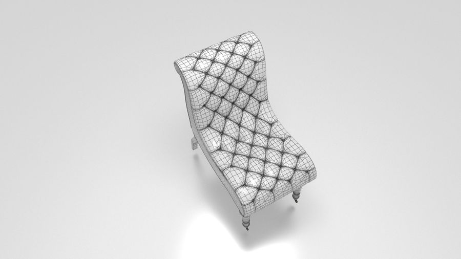 Sofa Stuhl royalty-free 3d model - Preview no. 9