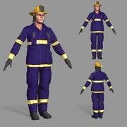 Feuerwehrmann 3d model