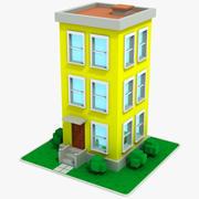 Cartoon House 11 3d model