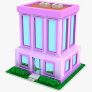 Cartoon House 12 3d model