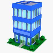 Cartoon House 13 3d model