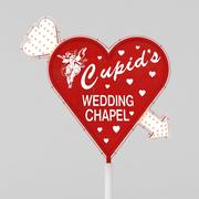 Cupid Chapel Sign 3d model