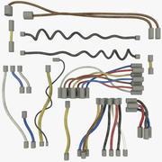 Conjunto de fios V5 3d model