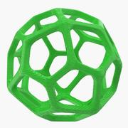 Holey Sphere 3D Model 3d model