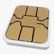 Nano SIM Card 3d model